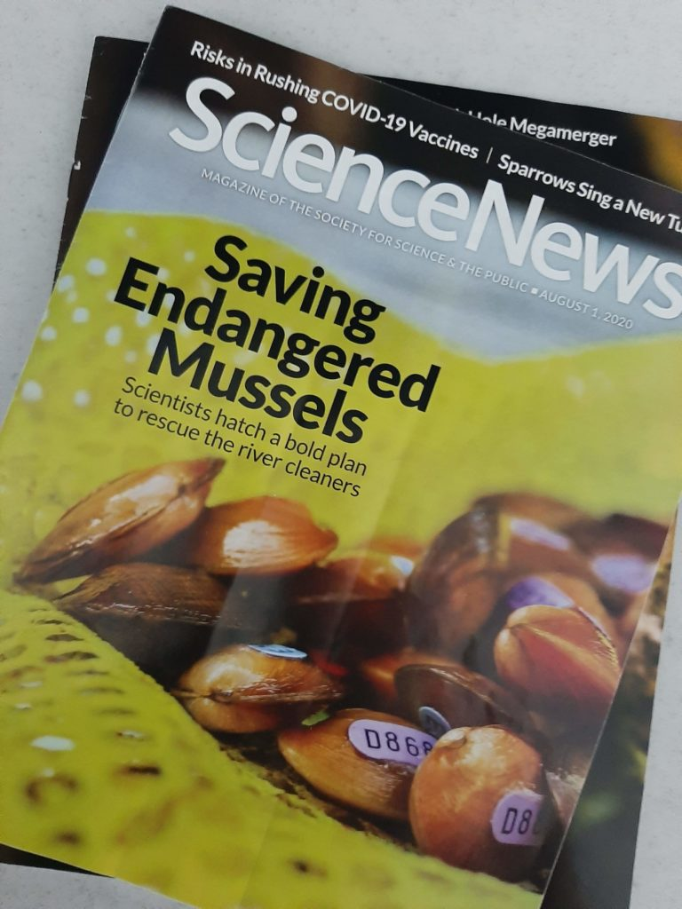 Science News - August 2020