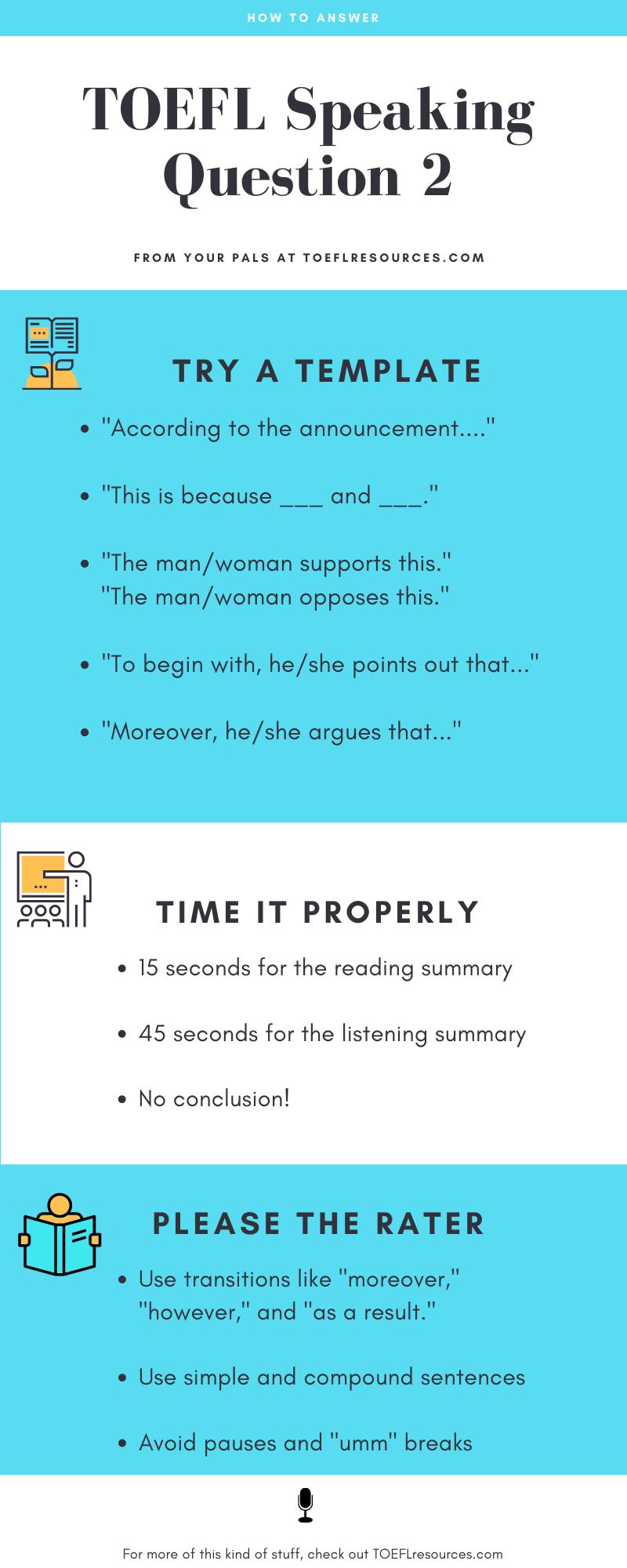 TOEFL speaking Question 2